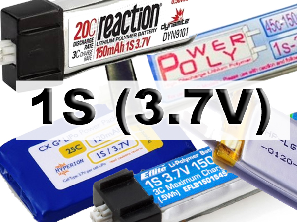 1S Batteries for Popular Models