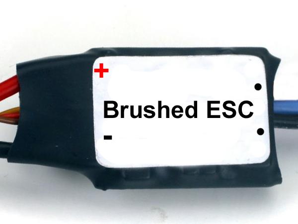 Brushed ESC