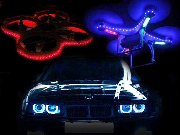 Lighting Cars & Quads