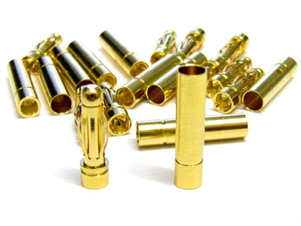 Gold Power Connectors