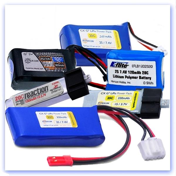 LiPo Batteries for indoor