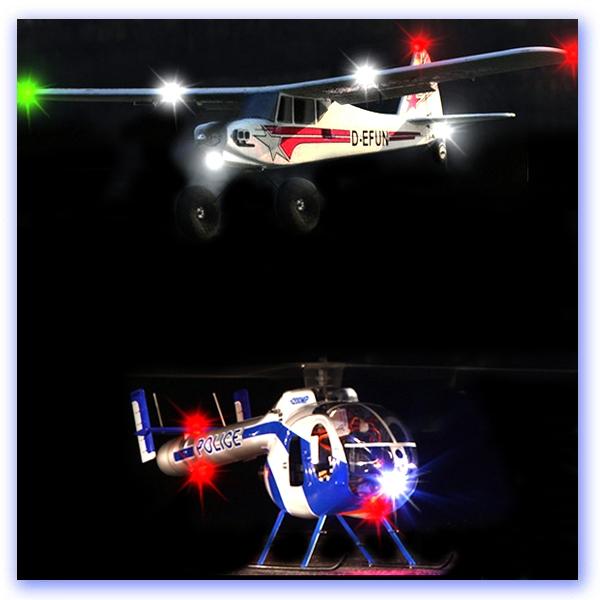 Lighting Planes & Helis