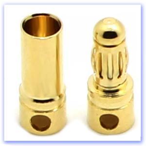 Gold Power Connectors