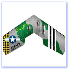 MS Swift II Flying Wing Airbrush USAF O
