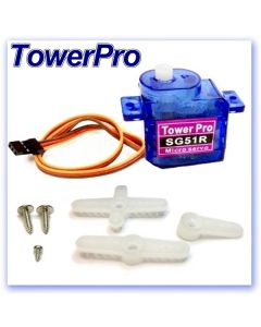 5.6g TowerPro SG51R Analogue Servo (RB406100)