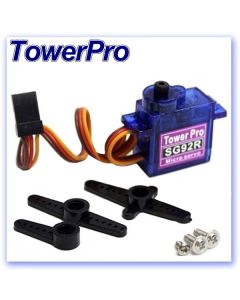 9.0g TowerPro SG92R Analogue Servo (RB406112)